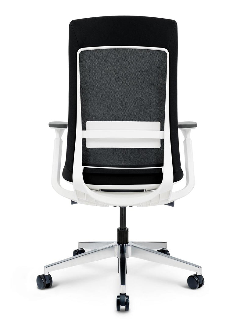 Elevate Designer Task Chair - Home Office - Ergonomic - Black - Two-tone