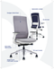Elevate Designer Task Chair - Home Office - Ergonomic