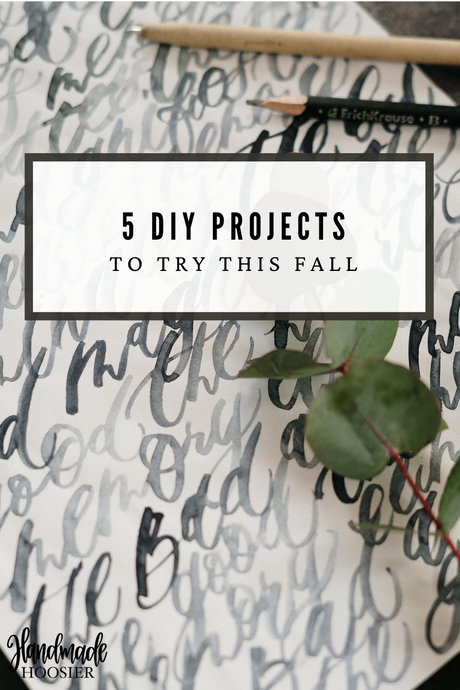 Fall DIY Roundup