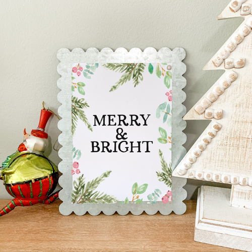 Art Print - Merry and Bright