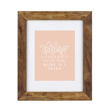 Load image into Gallery viewer, Art Print - Darling