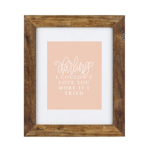 Art Print - Darling