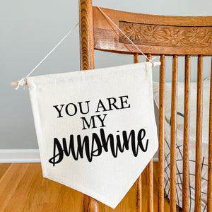 Canvas Banner - Sunshine