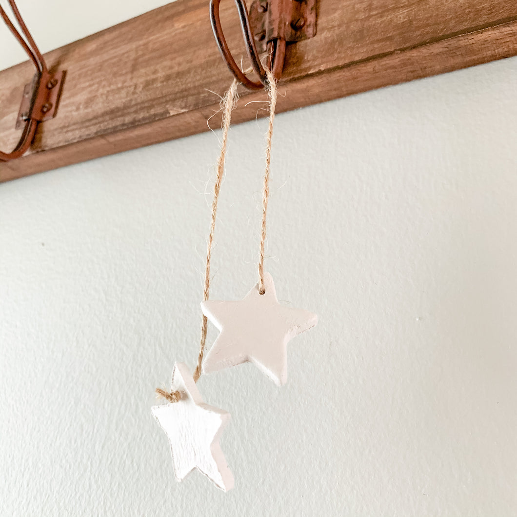 Dangle Clay Ornament - Customizable Shape