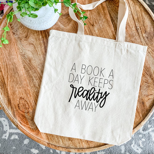 Canvas Tote - A Book a Day