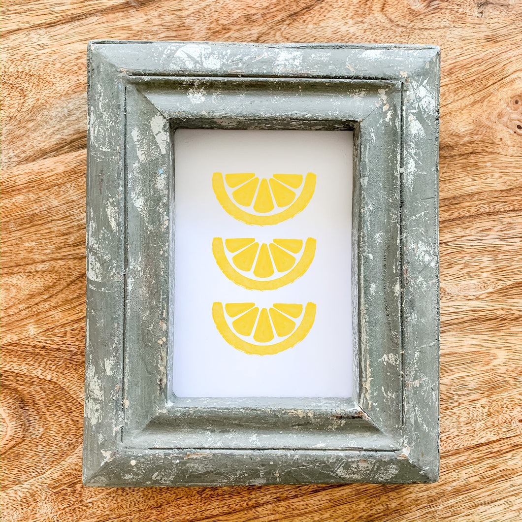 Art Print - Lemon Wedges