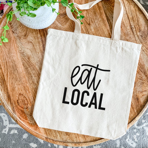 Canvas Tote - Eat Local
