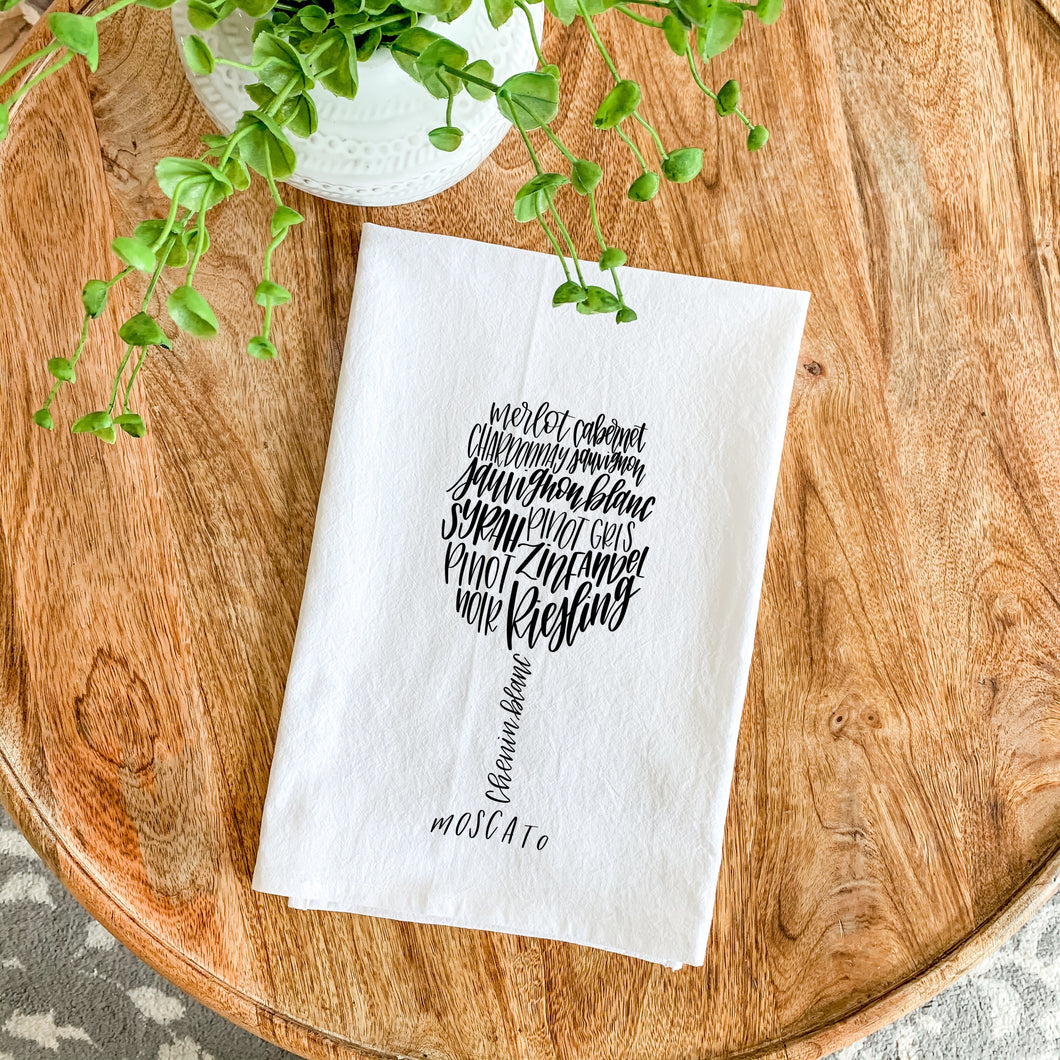 Tea Towel - Wine Glass