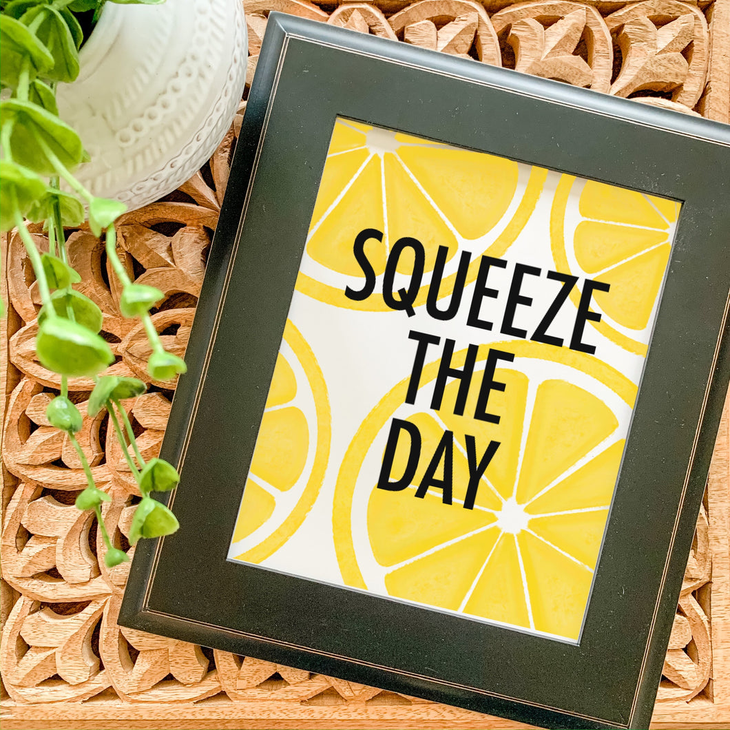 Art Print - Lemon Squeeze the Day
