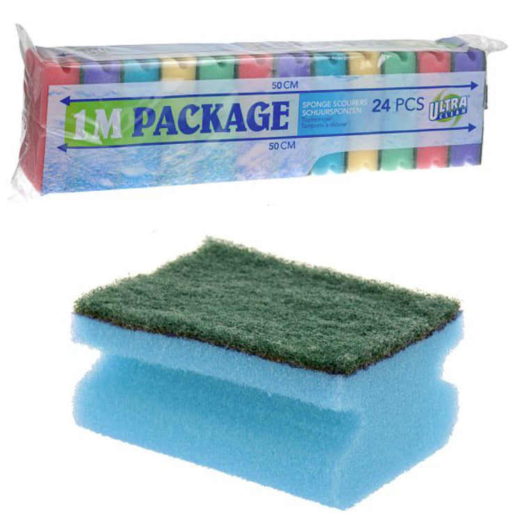 UltraClean Sponge Scourers 24 Pack