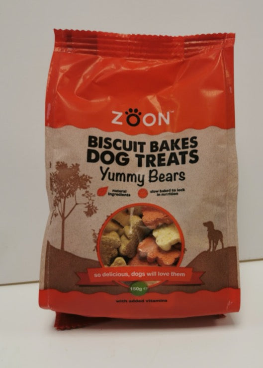 Zoon Dog Treats Yummy Bears 150g