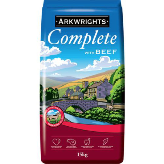 Arkwrights Complete with Beef 15kg