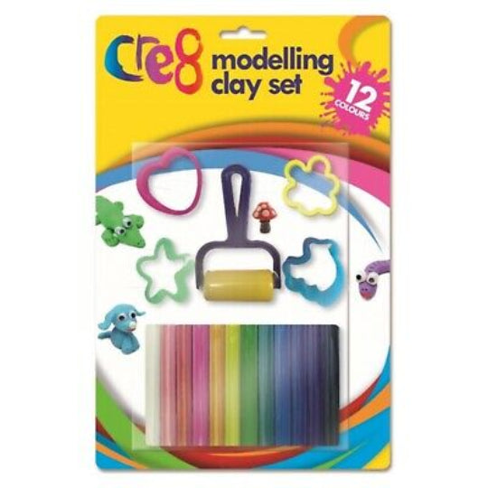 Cre8 Modelling Clay Set