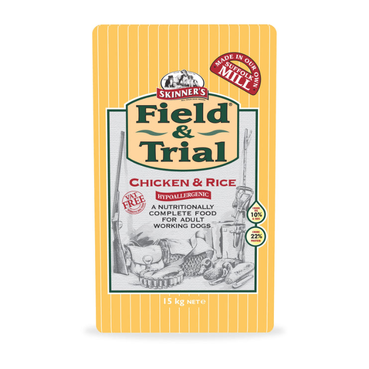 Skinner's Field & Trial Chicken & Rice Hypoallergenic