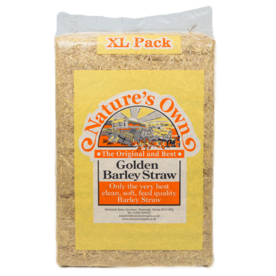 Nature's Own Golden Barley Straw 2kg