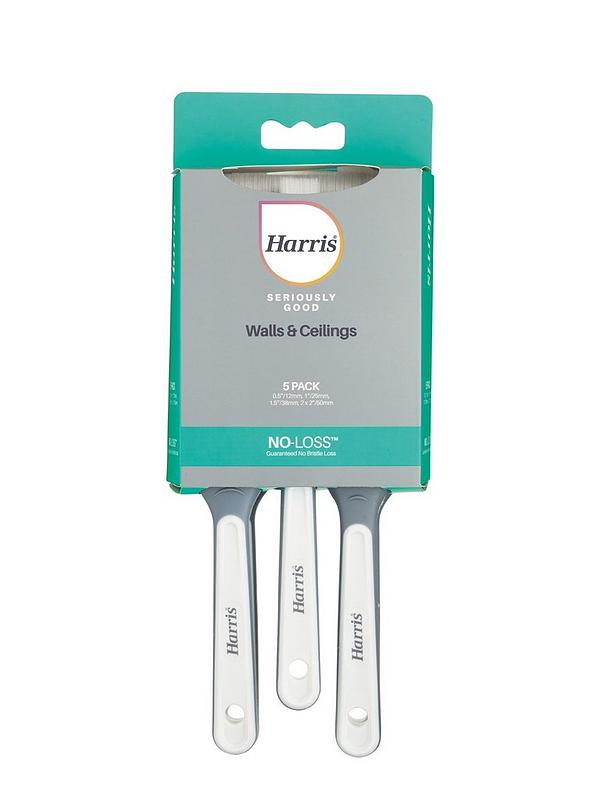 Harris Seriously Good Walls & Ceiling Brushes 5 pack