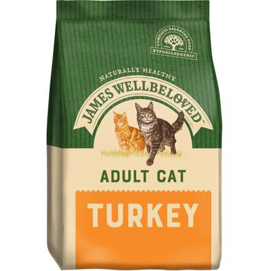 James Wellbeloved Adult Cat Turkey 4K