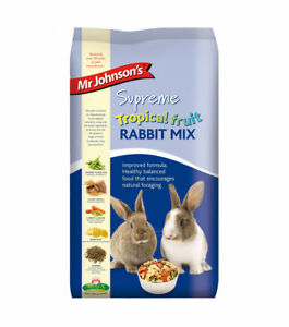 Mr Johnson's Supreme Tropical Fruit Rabbit Mix 900g