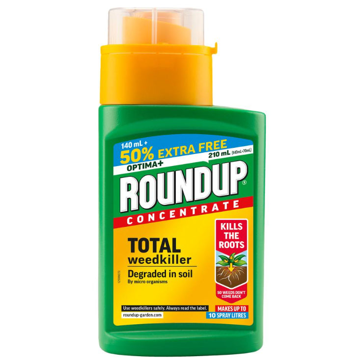 Roundup Optima+ Concentrate with 50% Extra Free