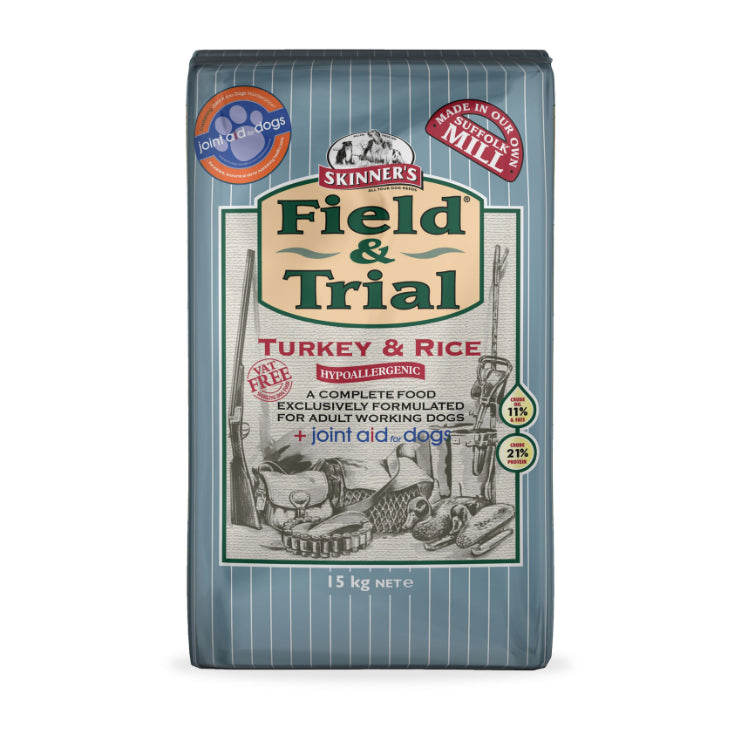 Skinner's Field & Trial Turkey & Rice with Joint Aid