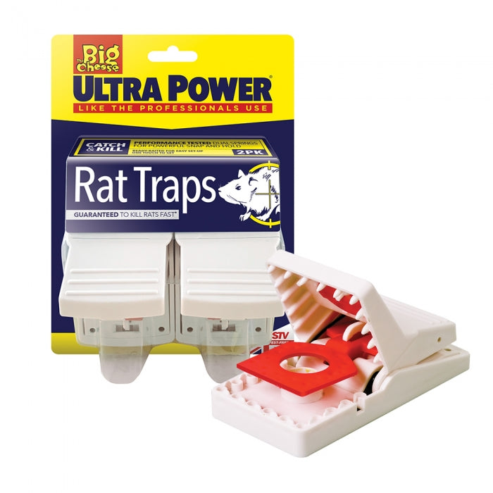The Big Cheese Ultra Power Rat Trap Twin Pack