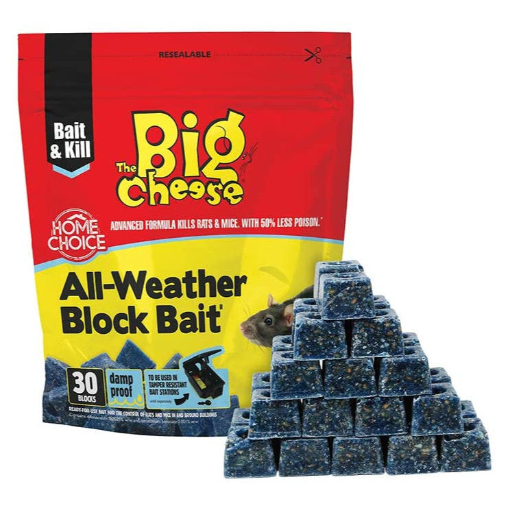 The Big Cheese All Weather Block Bait 15 pack