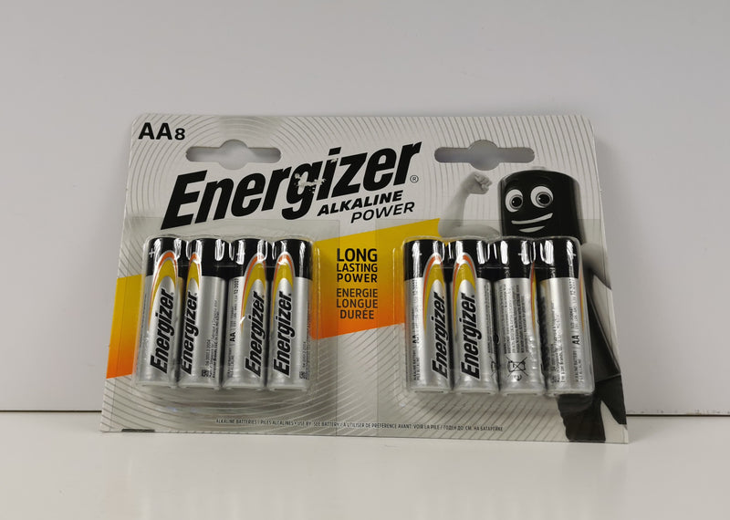 Energizer AA Alkaline Power Batteries 8pk