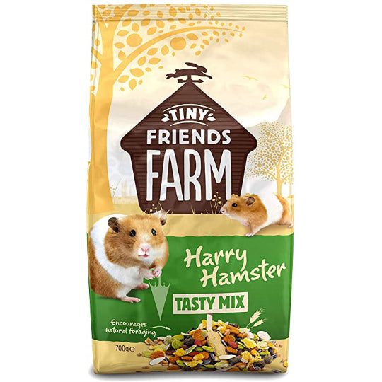 Supreme Tiny Friends Farm Harry Hamster Mix 700g