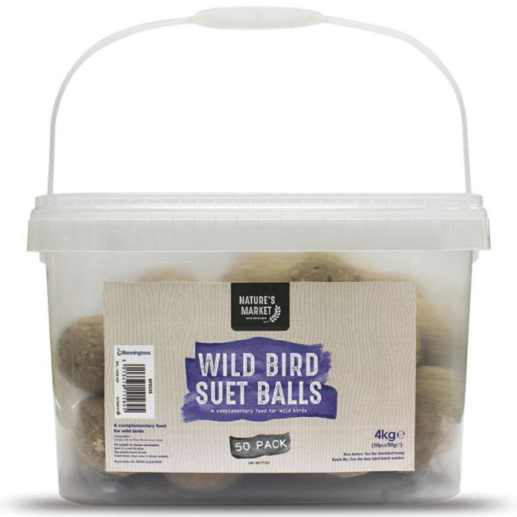 Nature's Market Wild Bird Suet Balls 50 Pack