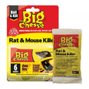 The Big Cheese Rat & Mouse Grain Bait Sachets 25g 6pk
