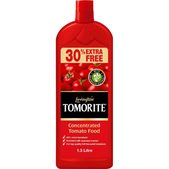 Levington Tomorite Concentrated Tomato Food 1ltr +30% Extra Free