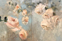 Florentine Roses (diptych)