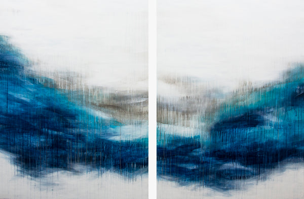 Blue Beat (diptych)