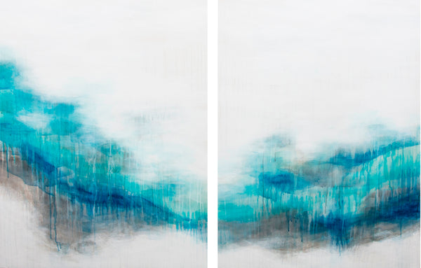 Nortic Ice (diptych), 2019