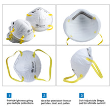 Load image into Gallery viewer, GB2626-2006 KN95 Safety Virus Protection Face Mask(For Box/20pcs)