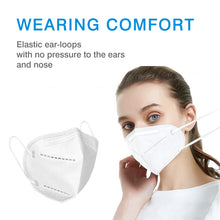Load image into Gallery viewer, KN95 Dust filter Anti Odor Smog Pollen Safety Protective Face Mask(For Box/10pcs)