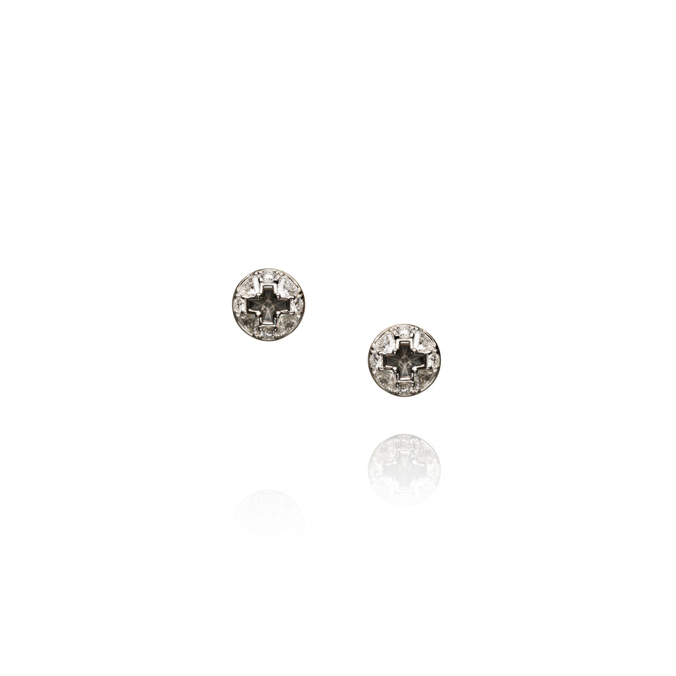 Philips Screw Diamond Ear Studs