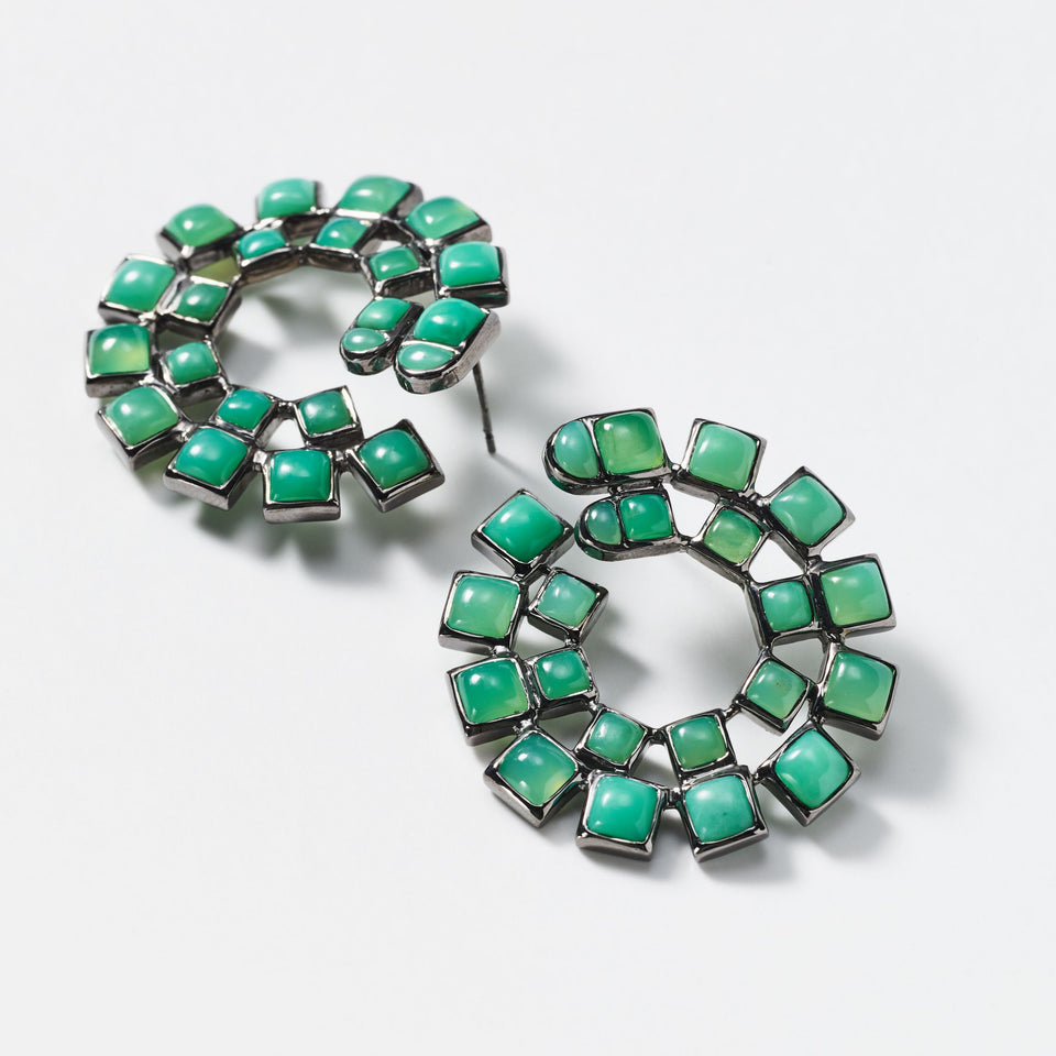 Wheel Bypass Hoops - Chrysoprase