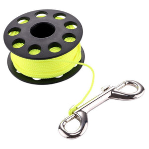 Corrosion resistant light weight PC Finger Spool Reel - The Eagle Ray Dive Shop