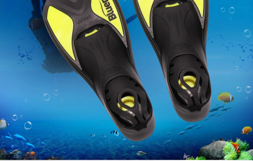 BLUERISE Adult Flippers - The Eagle Ray Dive Shop