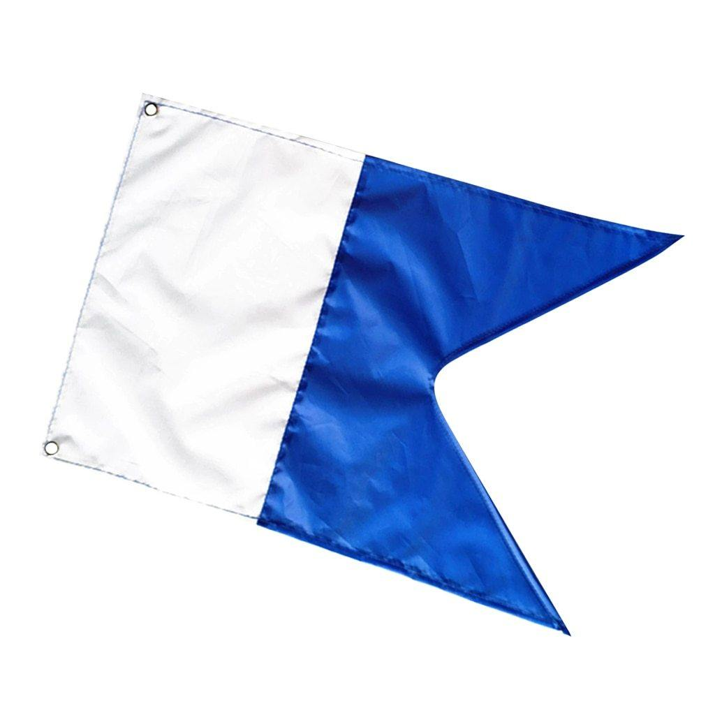 Dive Boat Alpha Flag/International Banner - The Eagle Ray Dive Shop