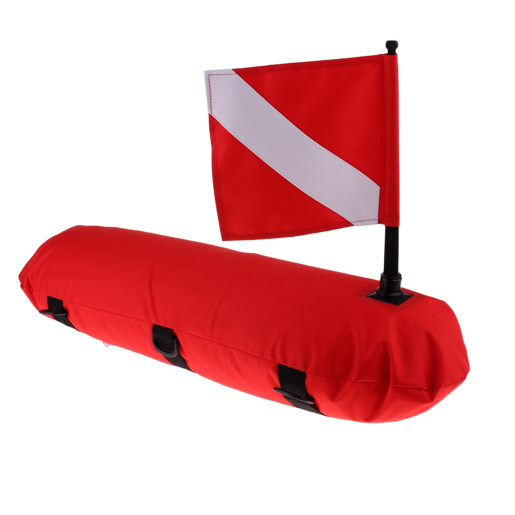 Inflatable Scuba Diving Buoy + Dive Flag Banner - The Eagle Ray Dive Shop