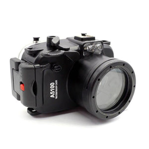 40M/130FT Waterproof Camera Housing for Sony A5100 16-50mm Lens - The Eagle Ray Dive Shop