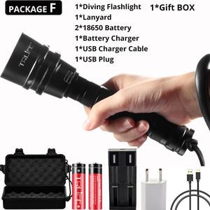 XML T6 L2 Portable Flashlights - The Eagle Ray Dive Shop