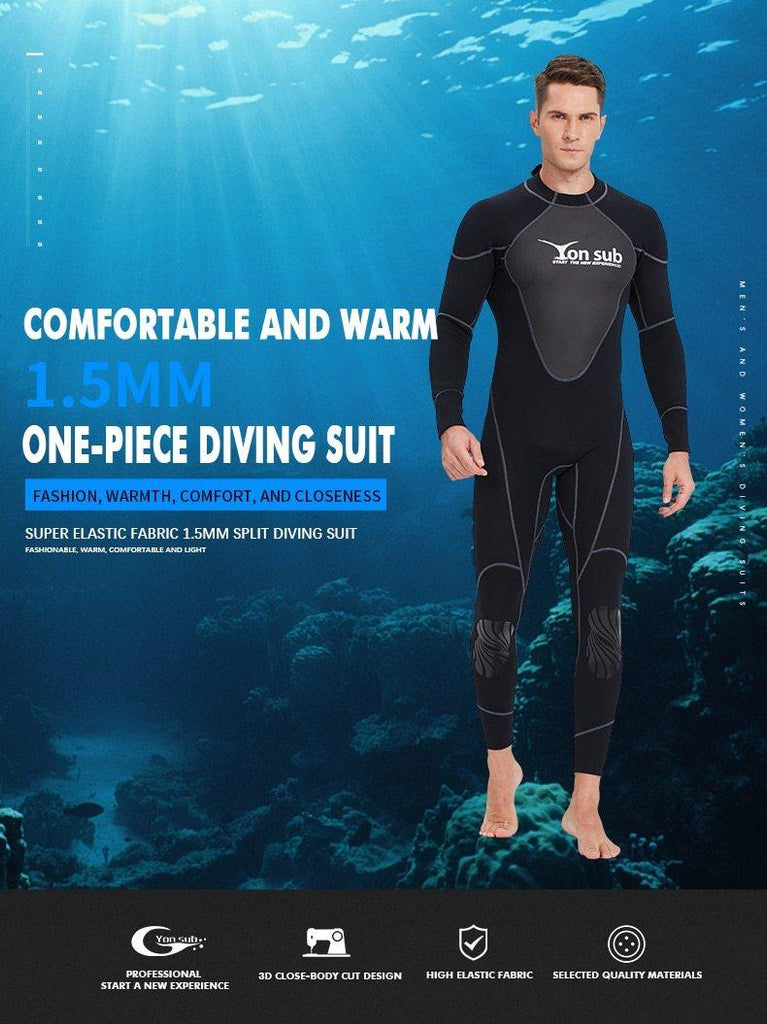 Yon Sub 1.5mm Mens Neoprene Wetsuit - The Eagle Ray Dive Shop
