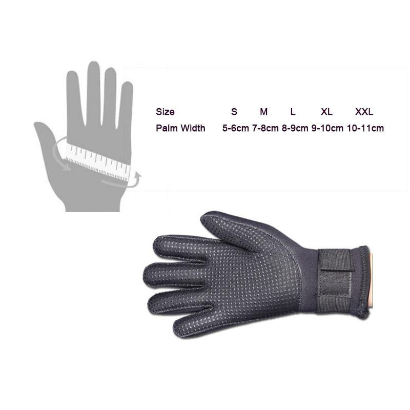 5mm Anti-Slip Adjustable Diving Gloves  for Men & Women - The Eagle Ray Dive Shop