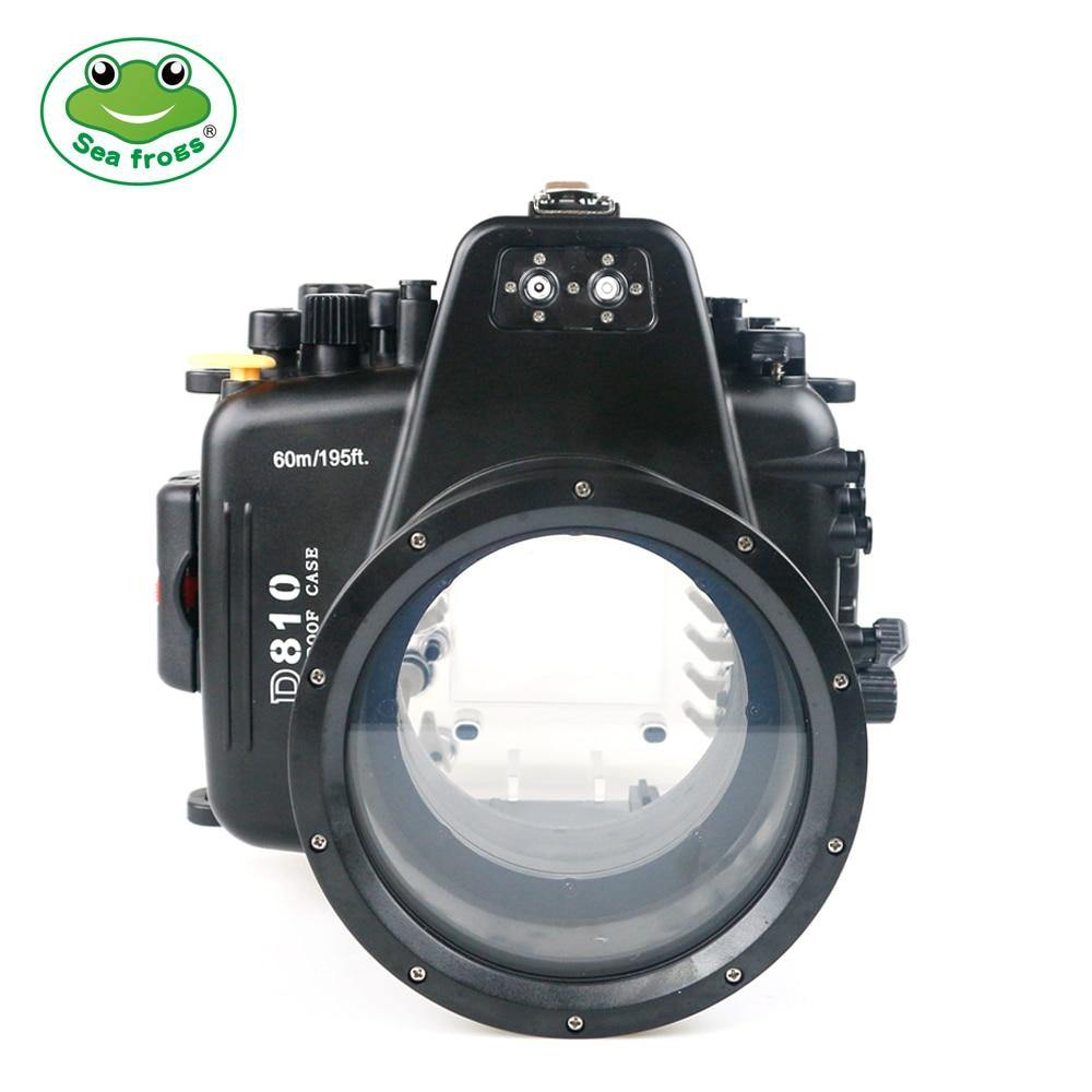 Sea Frogs 60M Waterproof Camera Housing For Nikon D810 105mm - The Eagle Ray Dive Shop