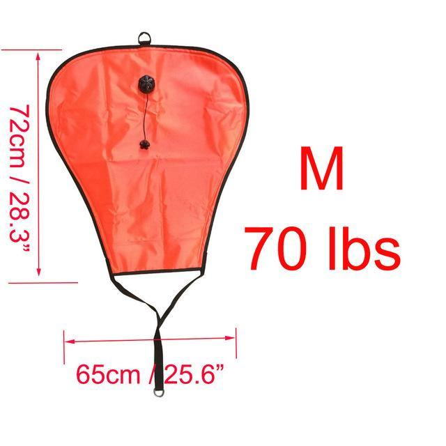 60/70/125/140LBS Diving Lift Bag - The Eagle Ray Dive Shop