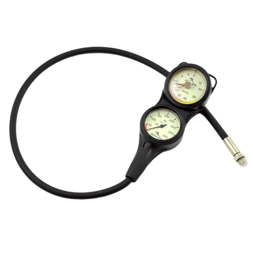 HiMISS Professional Depth & Pressure gauge - The Eagle Ray Dive Shop