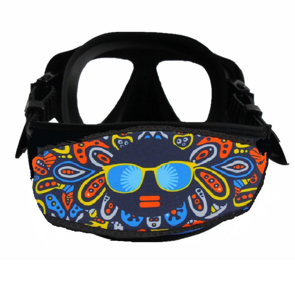 Customized Neoprene Diving Mask Strap - The Eagle Ray Dive Shop
